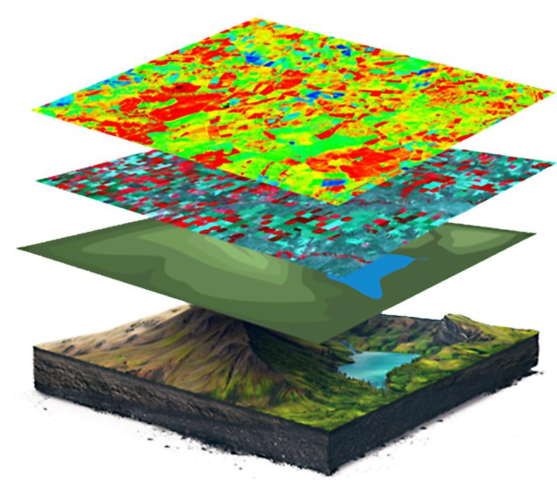 layers of analysis. Satellite
